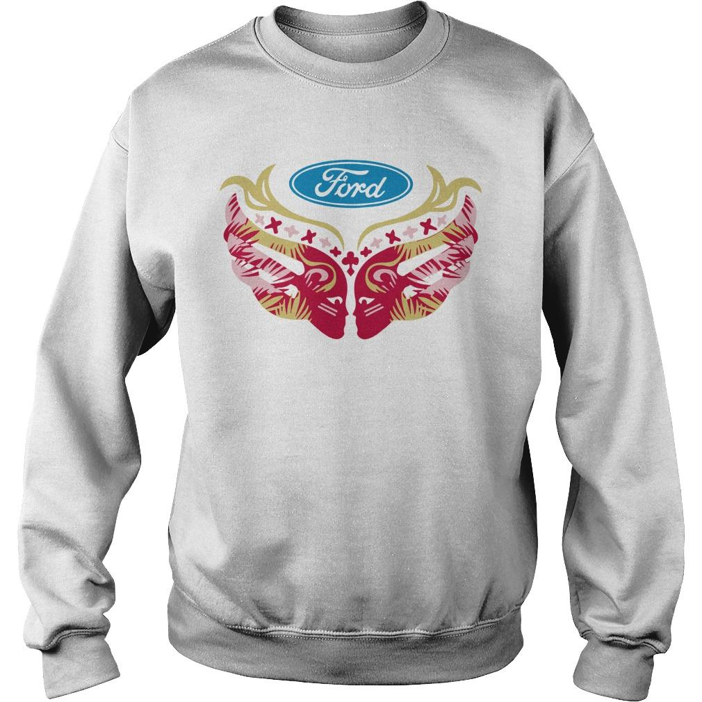 Ford Cares Warriors In Pink Sweater