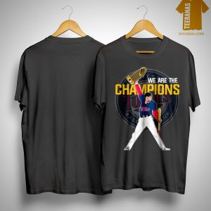 Freddie Mercury Minnesota Twins We Are The Champions Shirt