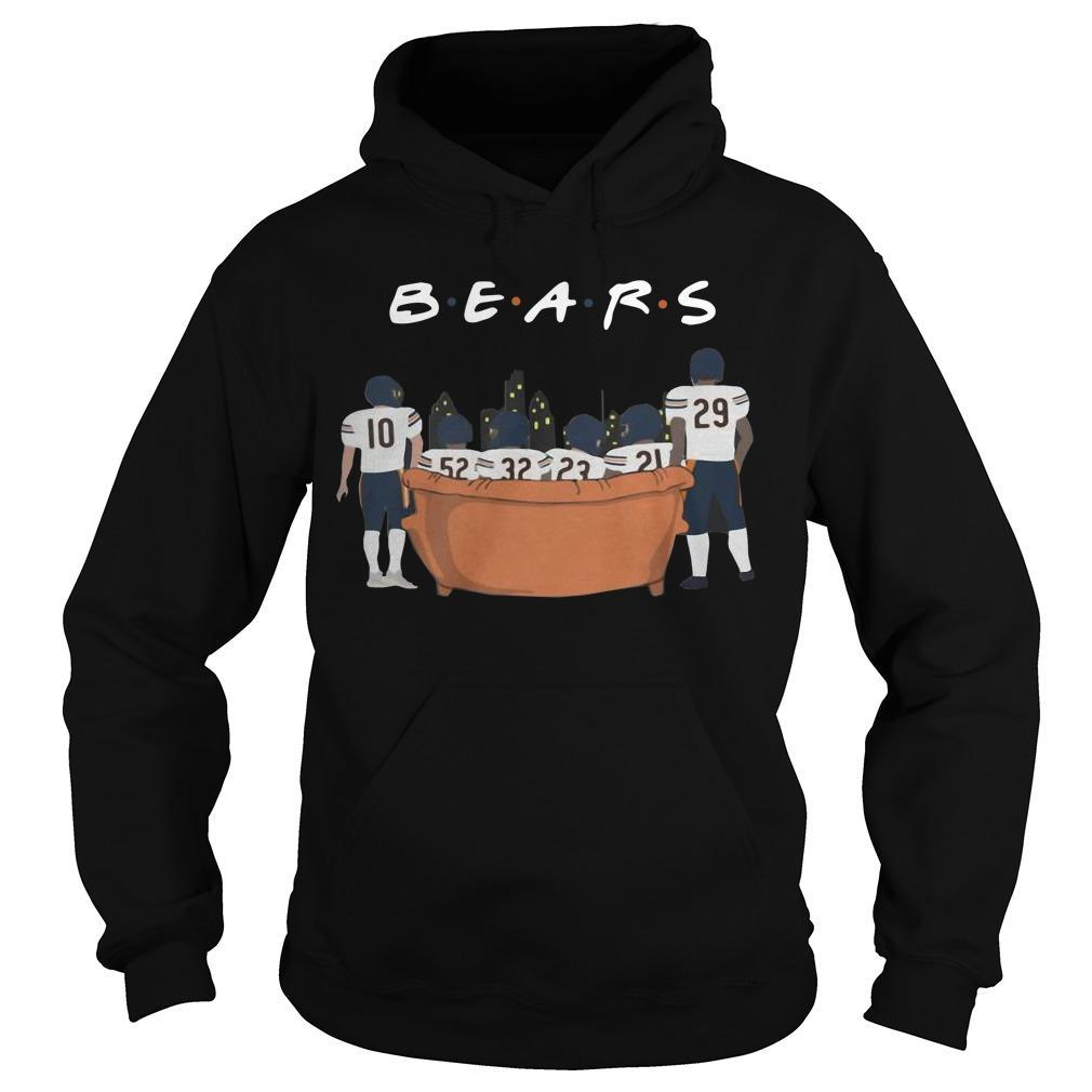 Friends Tv Show Chicago Bears Hoodie