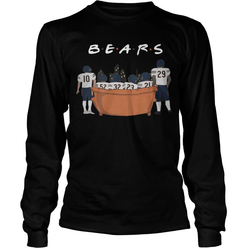 Friends Tv Show Chicago Bears Longsleeve