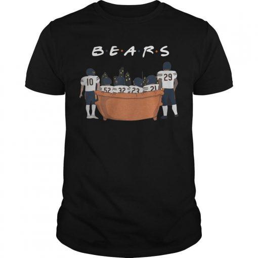 Friends Tv Show Chicago Bears Shirt