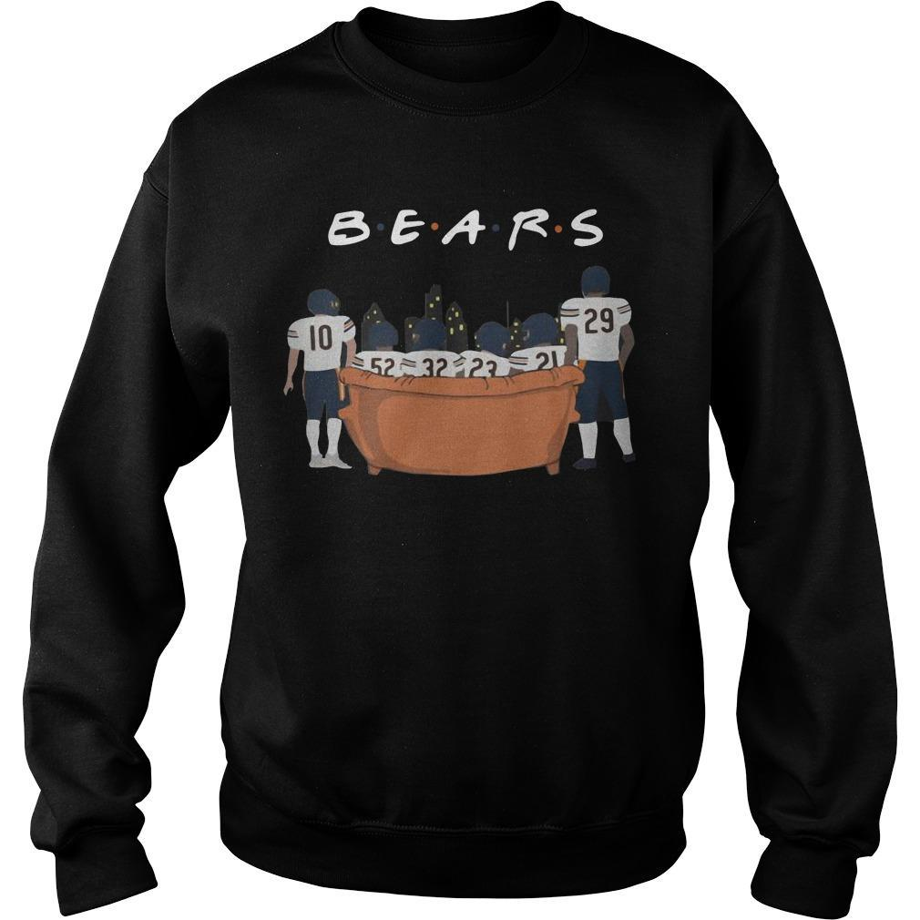 Friends Tv Show Chicago Bears Sweater