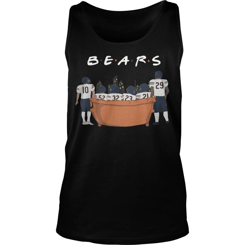 Friends Tv Show Chicago Bears Tank Top