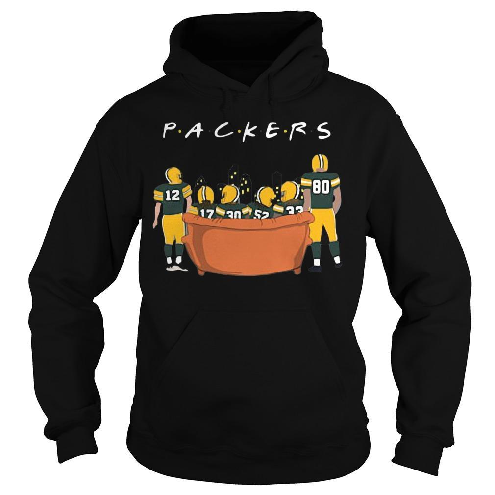 Friends Tv Show Green Bay Packers Hoodie