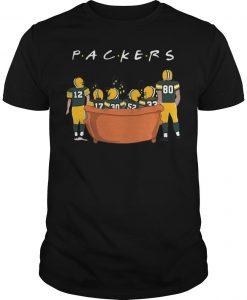 Friends Tv Show Green Bay Packers Shirt