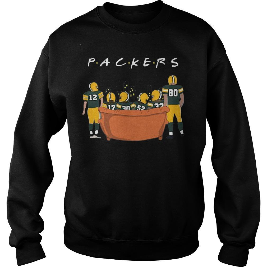 Friends Tv Show Green Bay Packers Sweater
