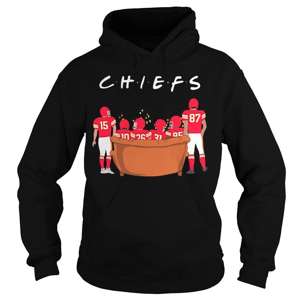 Friends Tv Show Kansas City Chiefs Hoodie