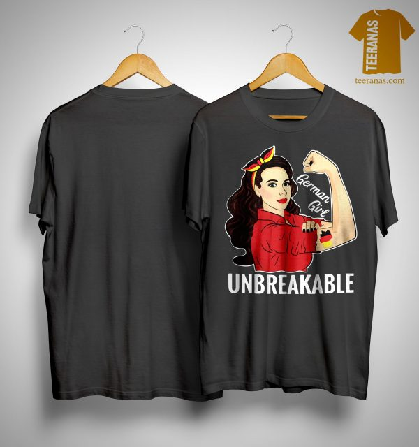 German Flag German Girl Unbreakable Shirt