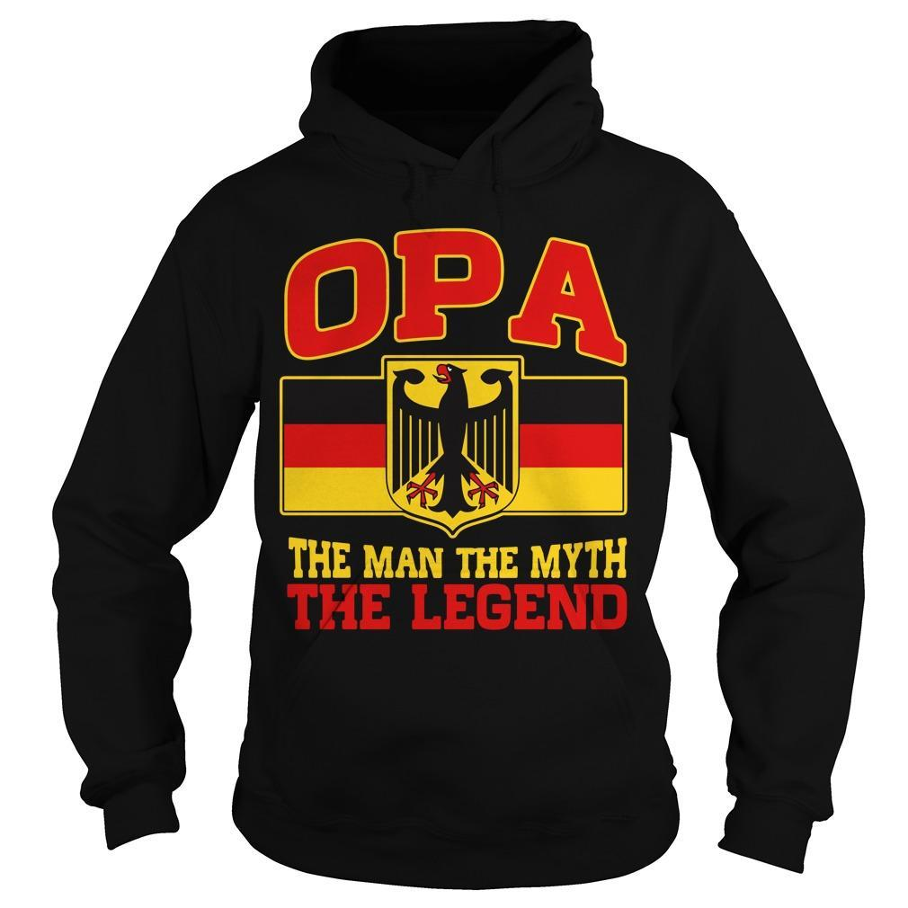 Germany Opa The Man The Myth The Legend Hoodie