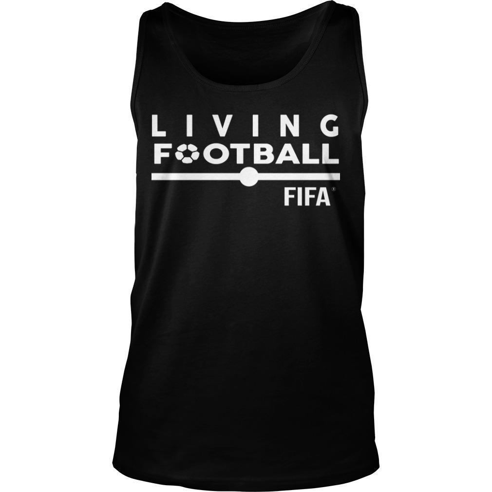 Gfa President Kurt Okraku Living Football Fifa Tank Top