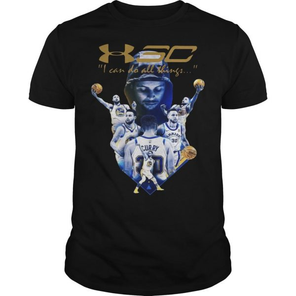 Golden State Warriors I Can Do All Things Stephen Curry T Shirt