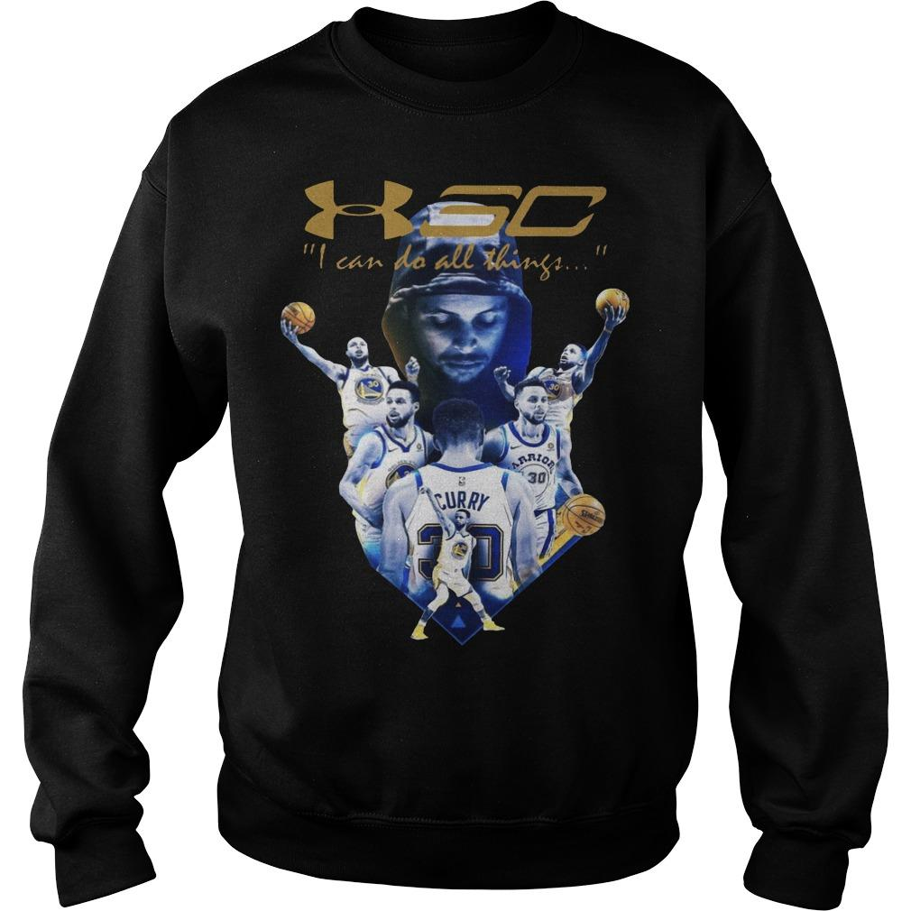Golden State Warriors I Can Do All Things Stephen Curry T Sweater