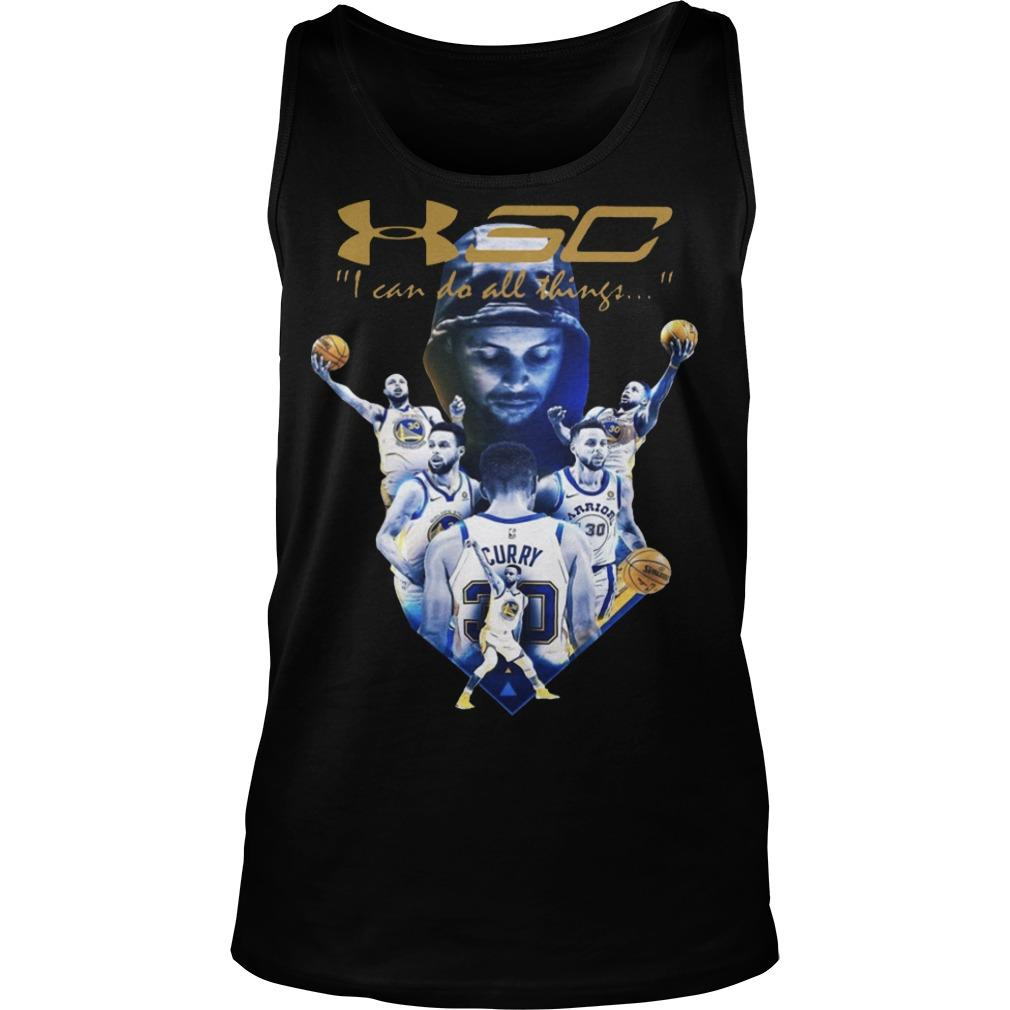 Golden State Warriors I Can Do All Things Stephen Curry T Tank Top