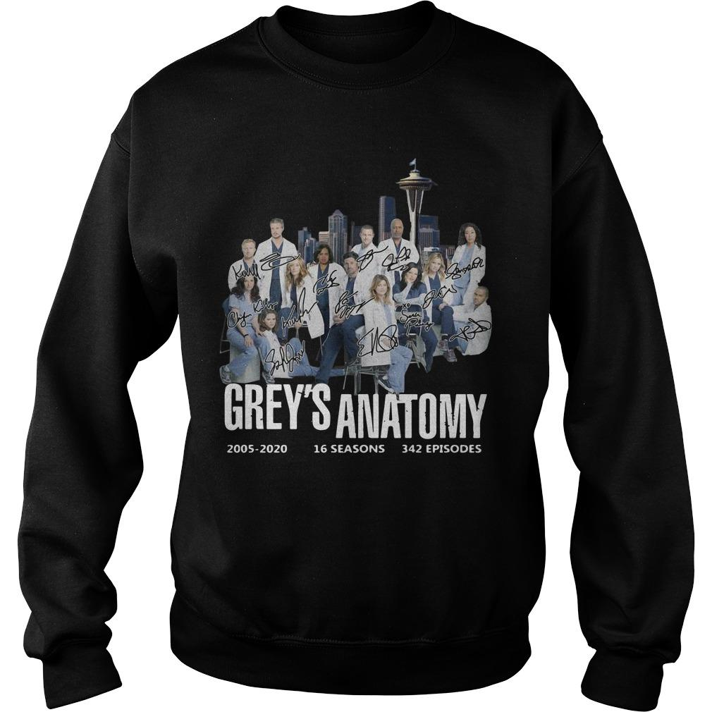 Grey's Anatomy 2005 2020 16 Seasons 342 Episodes Signature Sweater