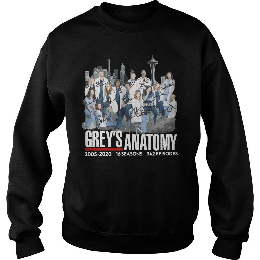 Grey's Anatomy 2005 2020 16 Seasons 342 Episodes Sweater