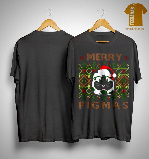 Guinea Pigs Merry Pigmas Shirt