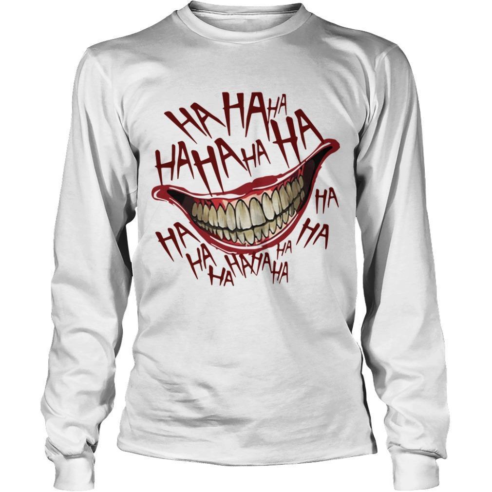Hahaha Smile Joker Longsleeve
