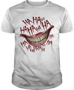 Hahaha Smile Joker Shirt