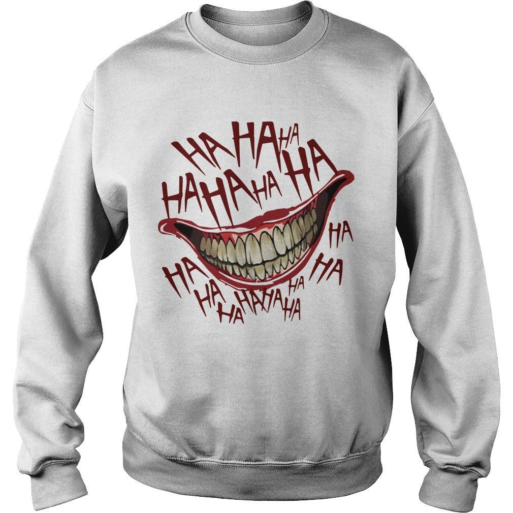 Hahaha Smile Joker Sweater