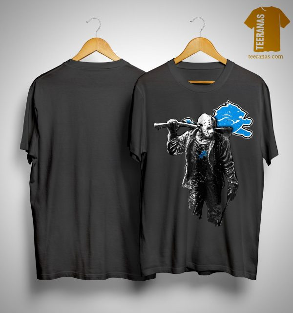 Halloween Detroit Lions Jason Voorhees Shirt
