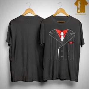 Halloween Gangster Costume Mafia Shirt