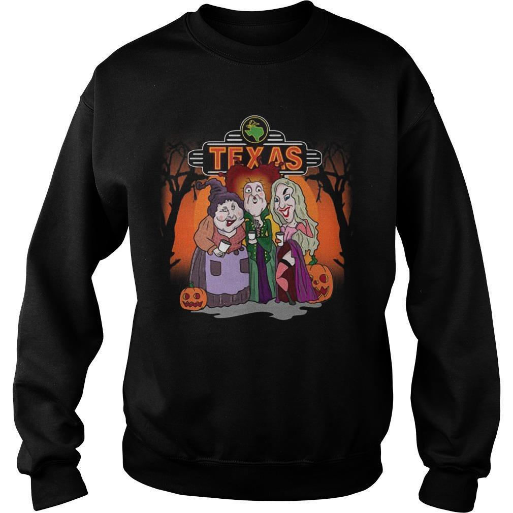 Halloween Hocus Pocus Texas Sweater