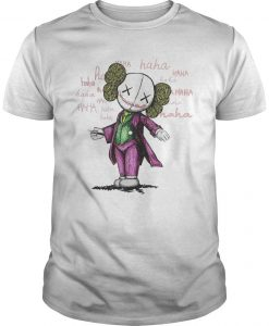 Halloween Joker Kaws Shirt