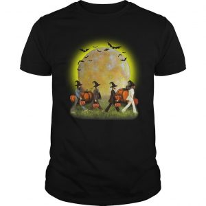 Halloween Moon Pumpkins The Beatles Abbey Road Shirt