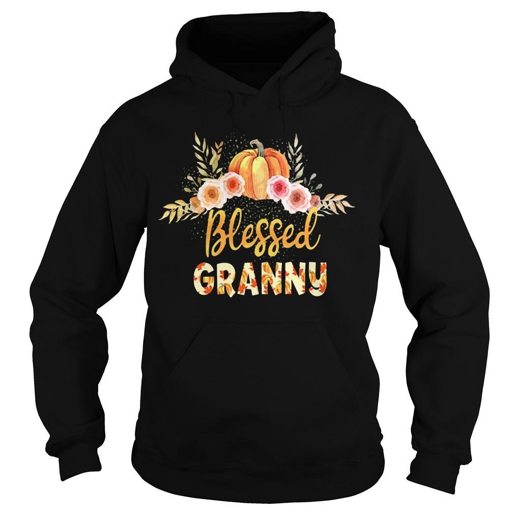 Halloween Pumpkin Blessed Granny Hoodie