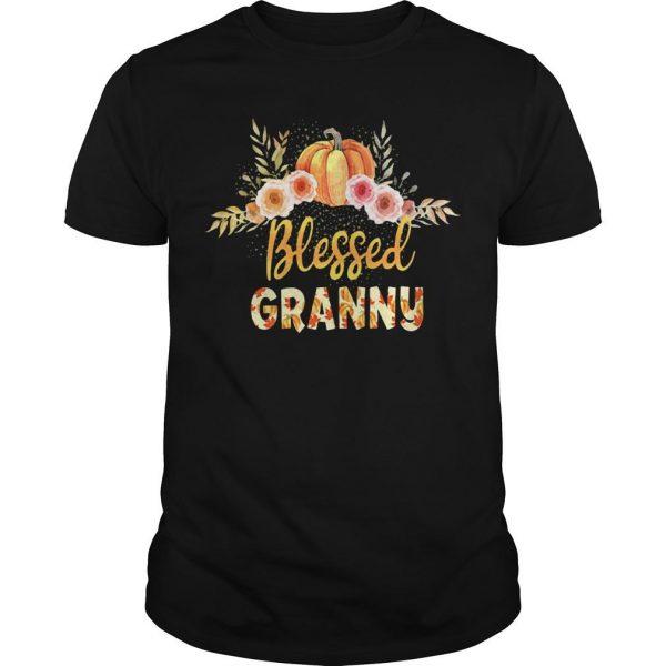 Halloween Pumpkin Blessed Granny Shirt