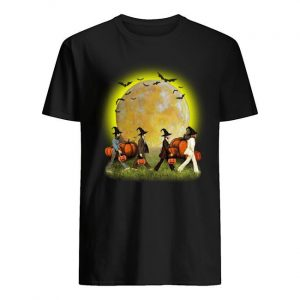 Halloween Pumpkins The Beatles Abbey Road Moon Shirt