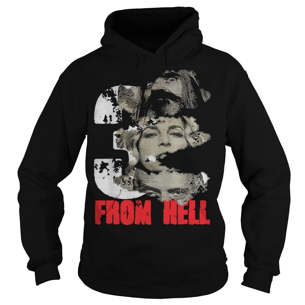 Halloween Rob Zombie Three From Hell Hoodie