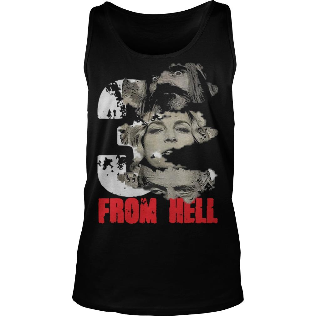 Halloween Rob Zombie Three From Hell Tank Top