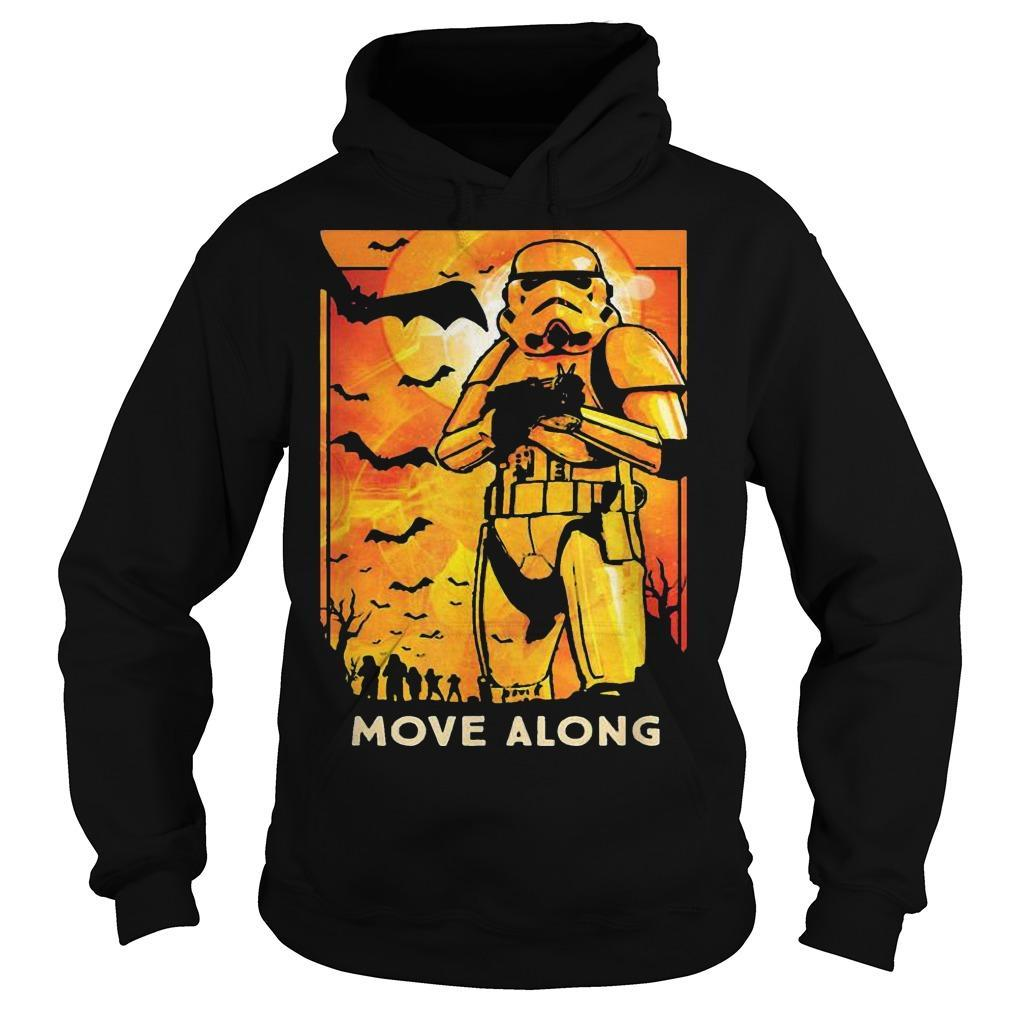 Halloween Star Wars Stormtroopers Move Along Hoodie