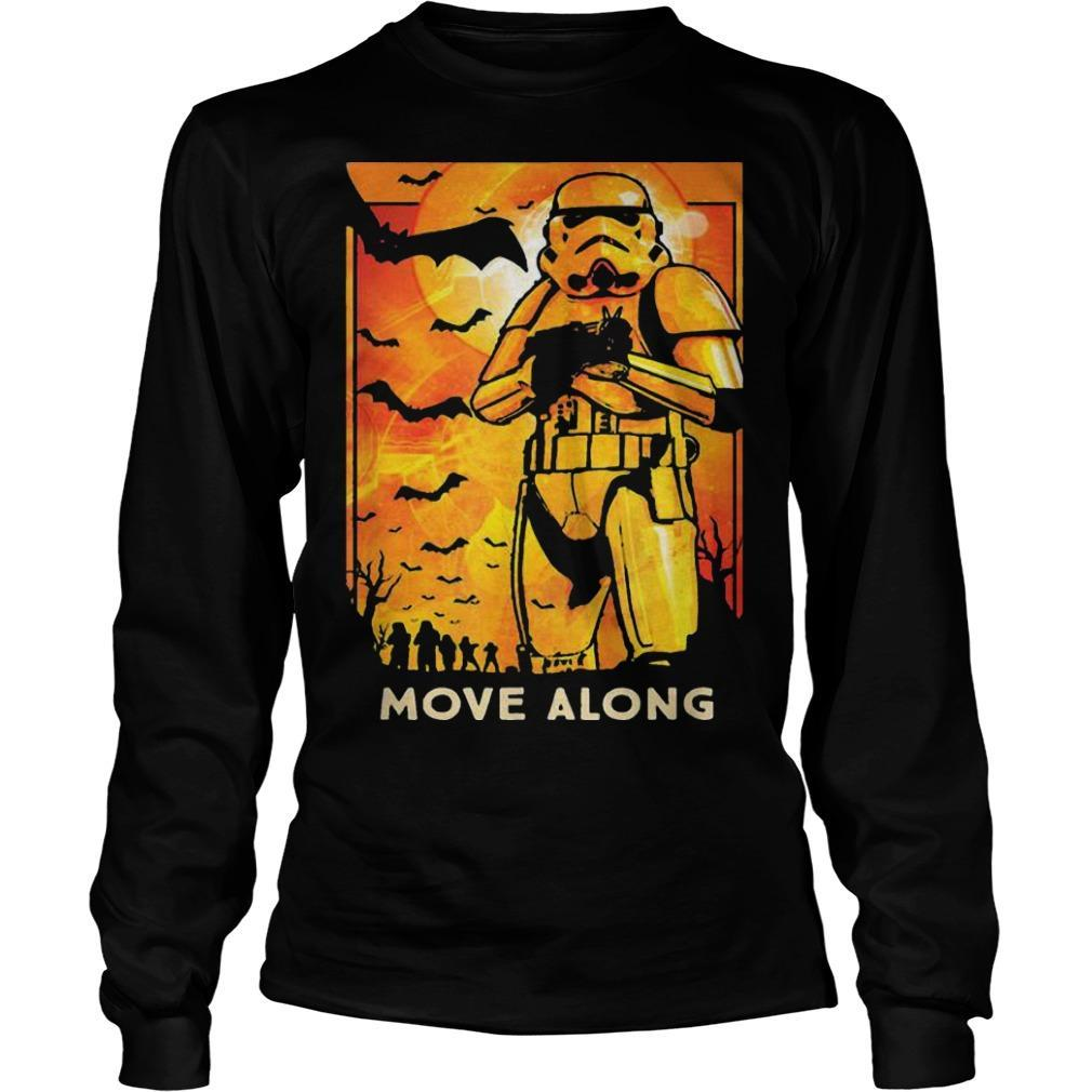 Halloween Star Wars Stormtroopers Move Along Longsleeve