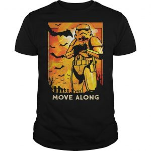 Halloween Star Wars Stormtroopers Move Along Shirt