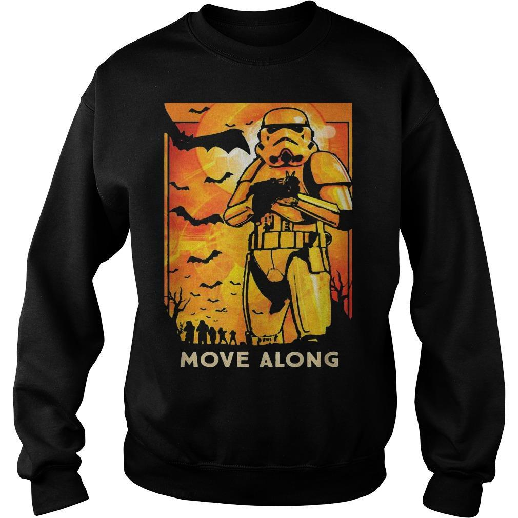 Halloween Star Wars Stormtroopers Move Along Sweater