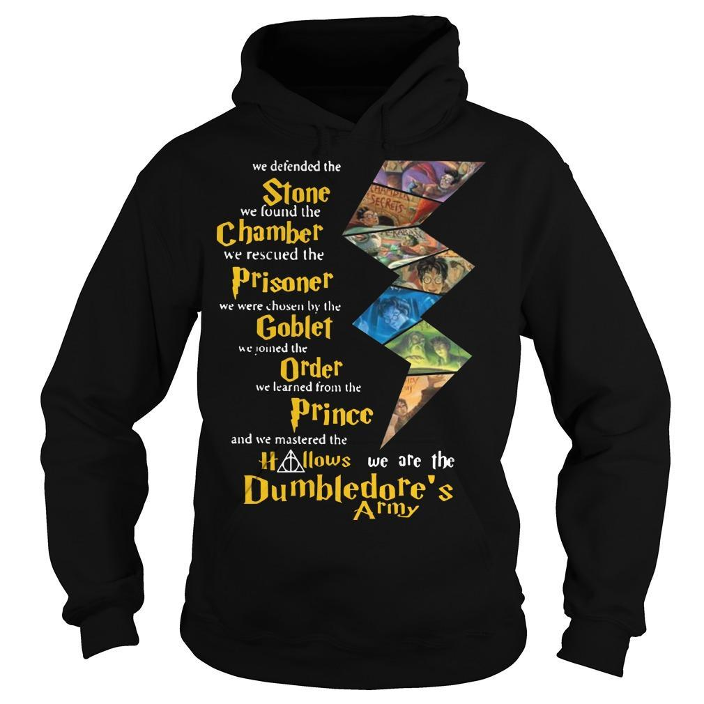 Harry Potter Stone Chamber Prisoner Goblet Order Prince Hallows Dumbledore's Army Hoodie