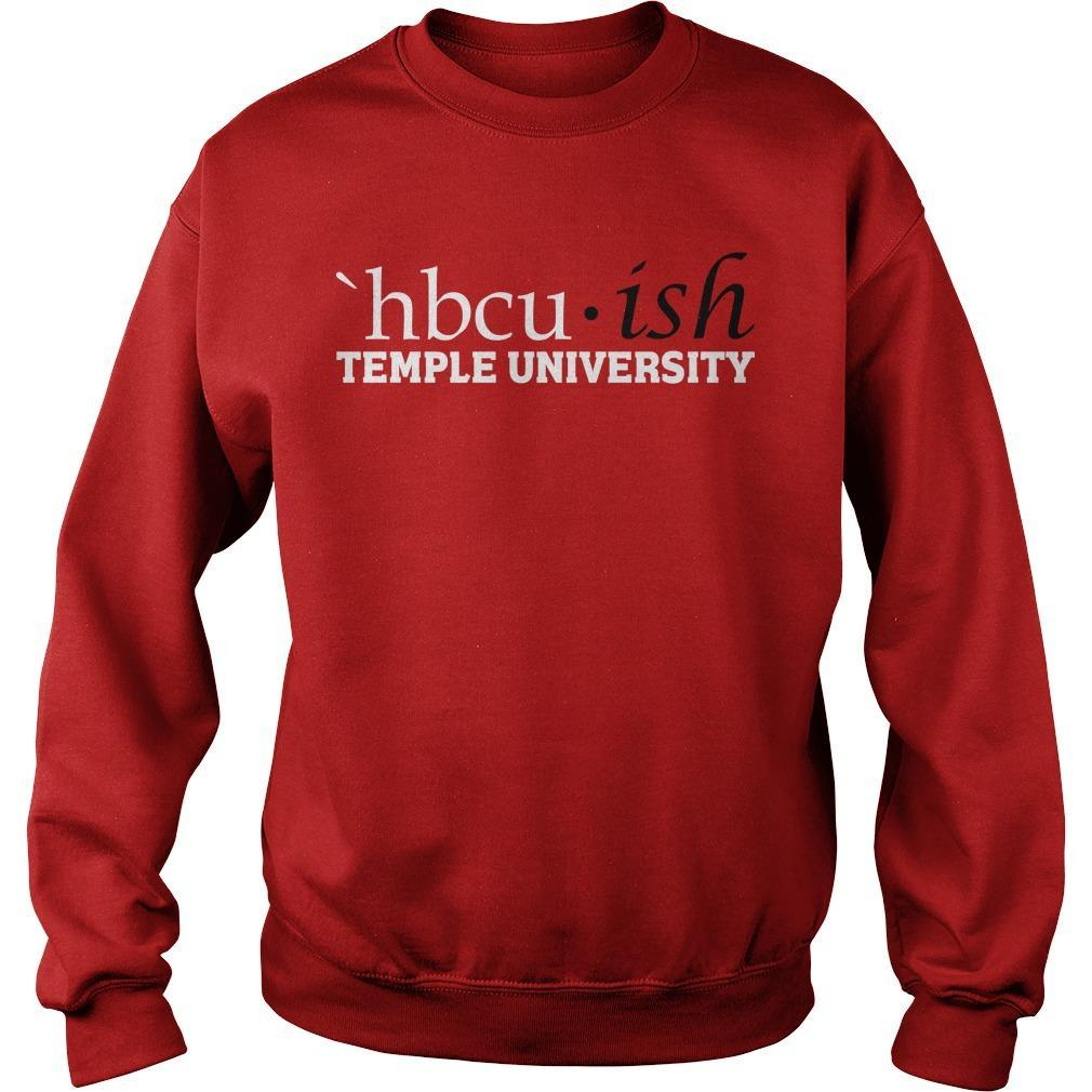 Hbcuish Temple University Sweater