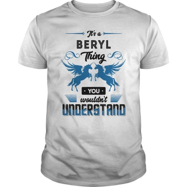 Horse It's A Beryl Thing You Wouldn't Understand Shirt