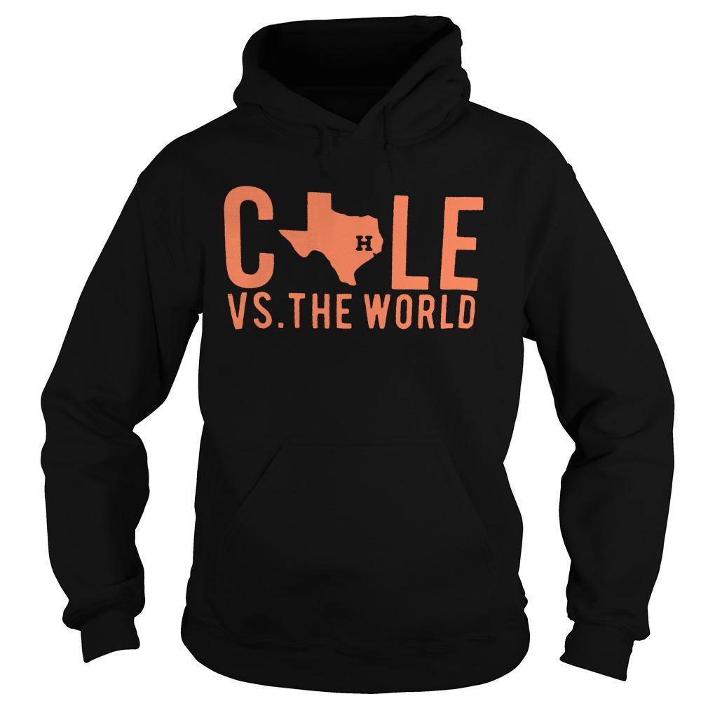 Houston Astros Cole Vs The World Hoodie