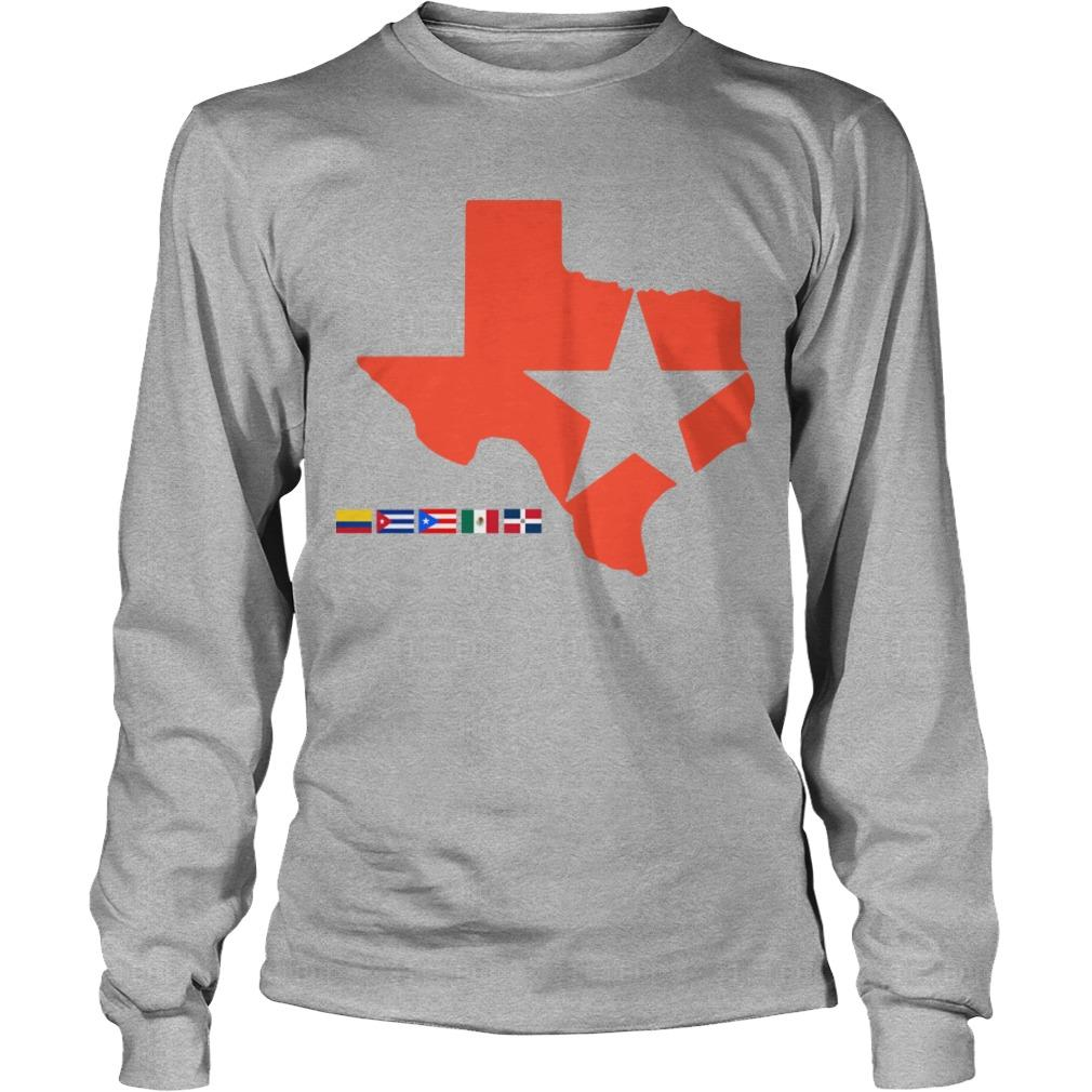 Houston Astros Lone Star State Longsleeve