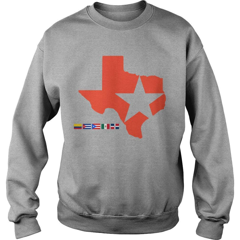 Houston Astros Lone Star State Sweater