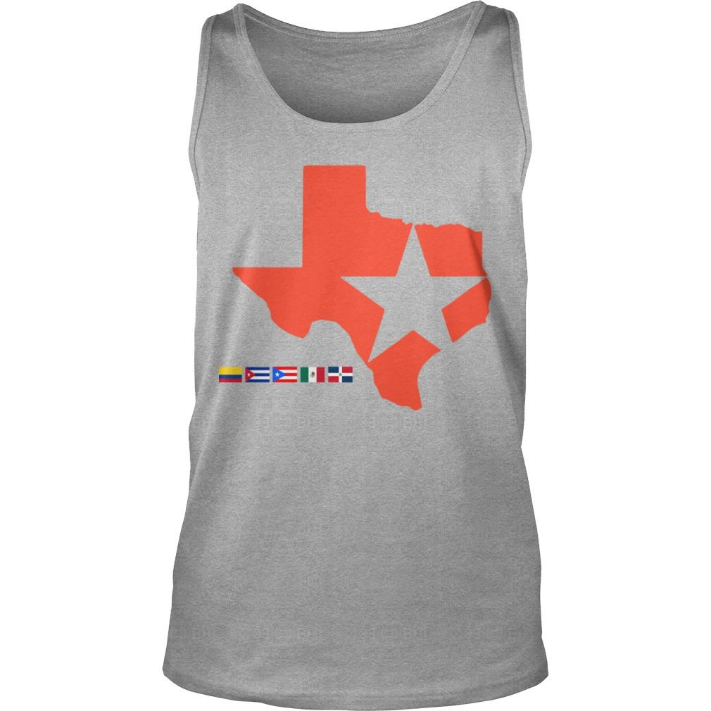 Houston Astros Lone Star State Tank Top