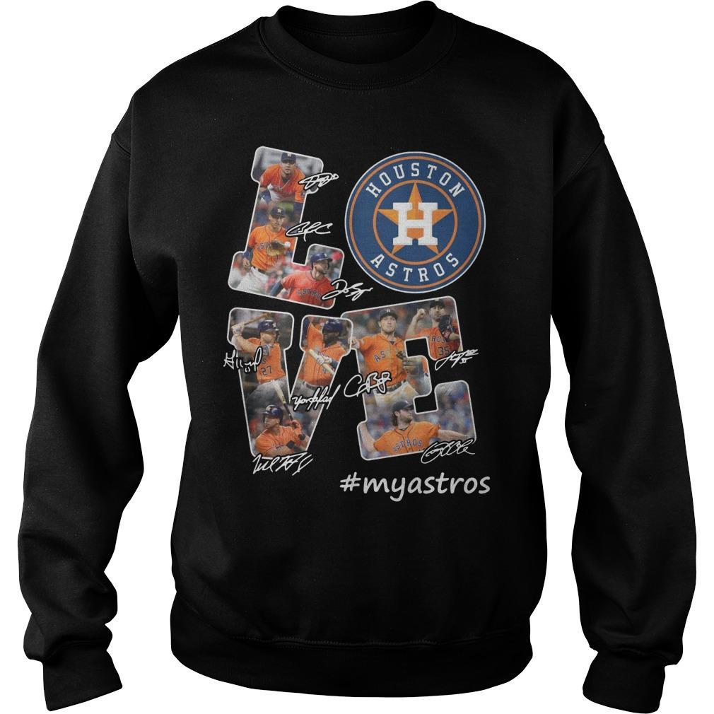 Houston Astros Love #myastros Sweater