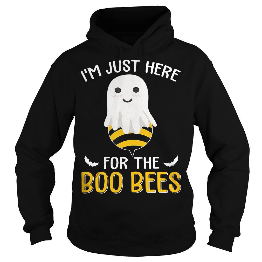 I'm Just Here For The Boo Bees T Hoodie