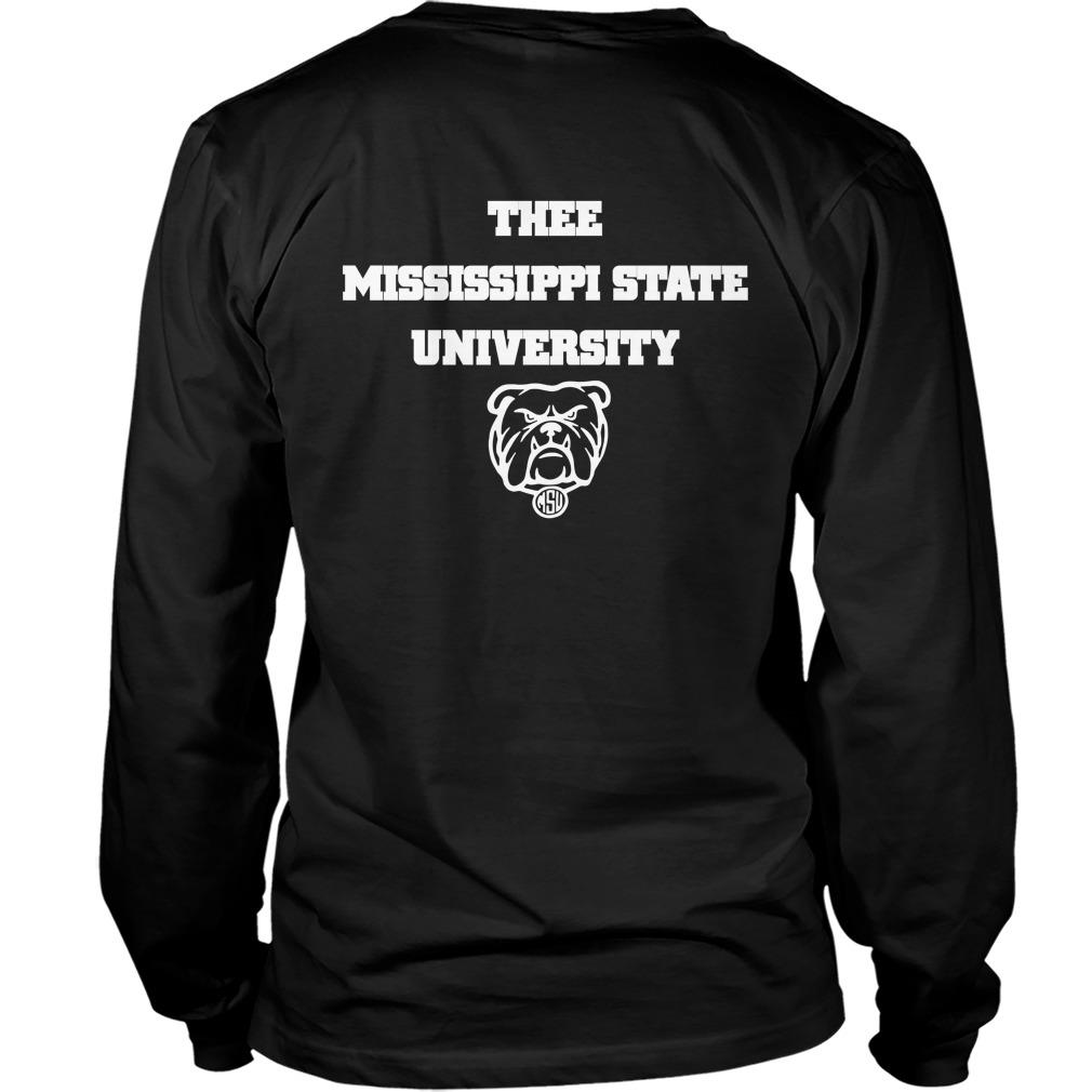 I Love My Hbcu Thee Mississippi State University Longsleeve
