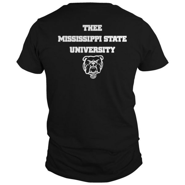 I Love My Hbcu Thee Mississippi State University Shirt