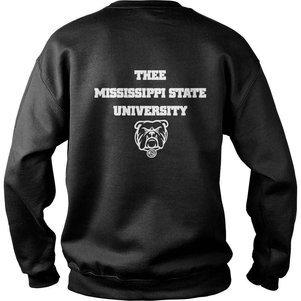 I Love My Hbcu Thee Mississippi State University Sweater