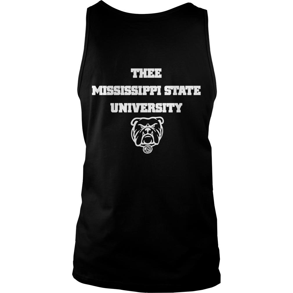 I Love My Hbcu Thee Mississippi State University Tank Top